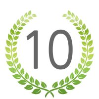 ランキング10位のアイコン