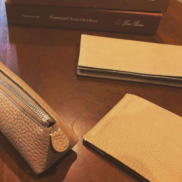 オーダーメイドで作る、日本製の革製品、財布、鞄